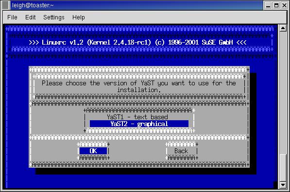suse kernel version command